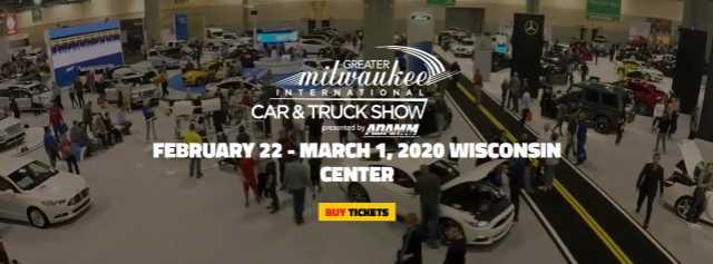 Milwaukee Auto Show 2020.Adnews